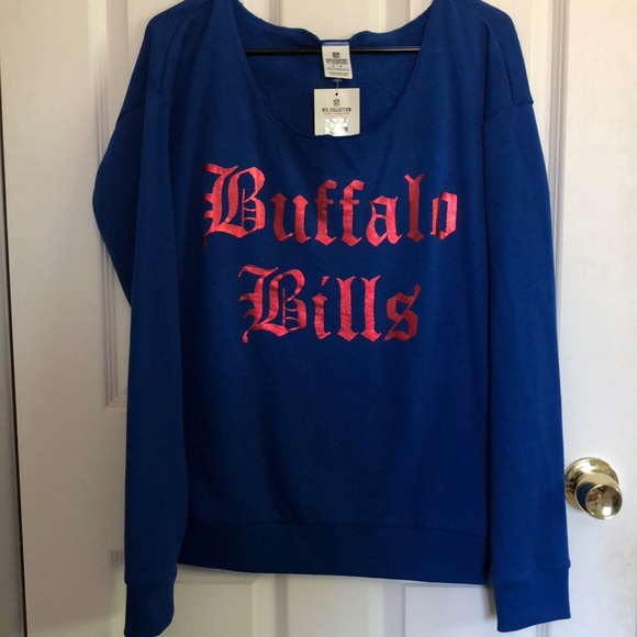 79610adc71c PINK Victoria s Secret Buffalo Bills Sweatshirt M
